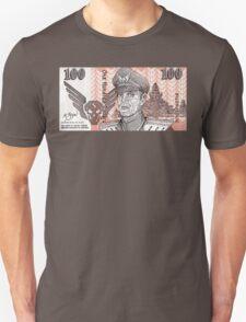 General M Bison Street Fighter the Movie Dollar T-Shirt
