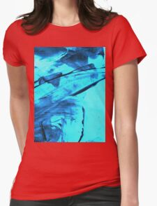 Blue Wind Womens Fitted T-Shirt