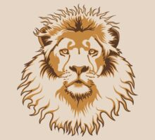 Lion Head (Transparent) by Rustyoldtown