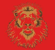 Lion Head (Transparent) Baby Tee