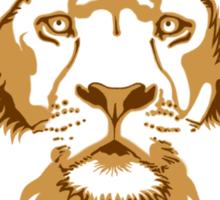 Lion Head (Transparent) Sticker