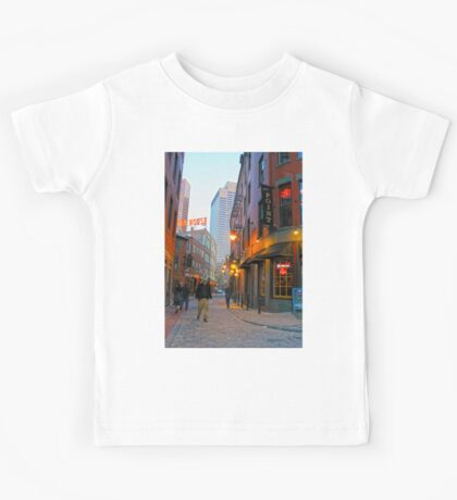Boston, MA: Feneuil Marketplace Kids Tee