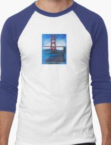 San francisco's Golden Gate Bridge Men's Baseball ¾ T-Shirt