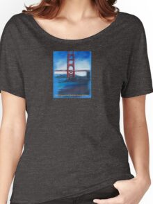 San francisco's Golden Gate Bridge Women's Relaxed Fit T-Shirt