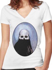 Silence Women's Fitted V-Neck T-Shirt
