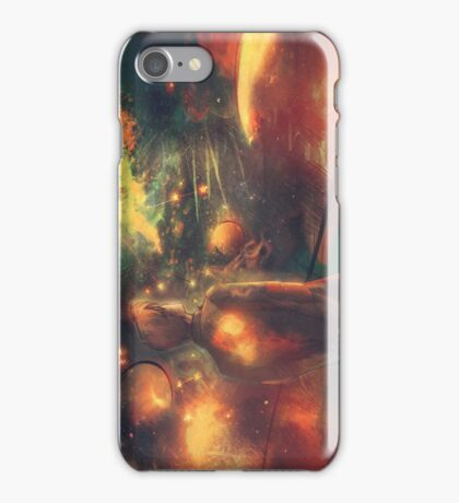 Through Crimson Stars and Silent Stars iPhone Case/Skin