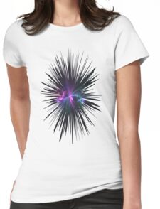 Fireworks Fractal Womens Fitted T-Shirt