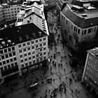 Munich from Above by Ben Walker