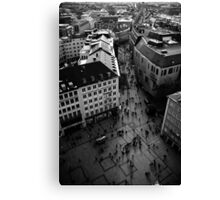 Munich from Above Canvas Print