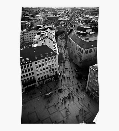 Munich from Above Poster