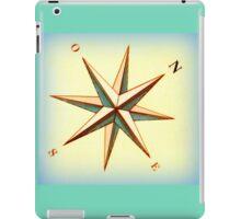Ship's compass iPad Case/Skin