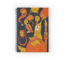 Simon-Space. Spiral Notebook