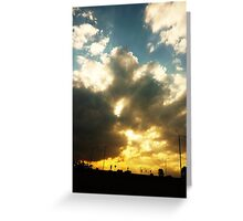 Magic Hour Greeting Card