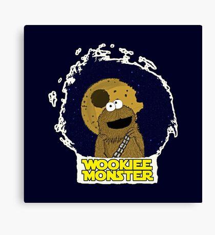 Wookiee Monster... Canvas Print