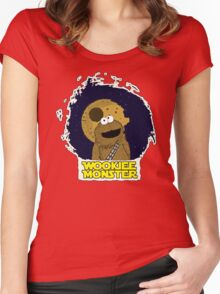 Wookiee Monster... Women's Fitted Scoop T-Shirt