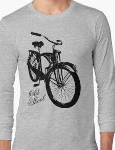 Old Skool Bicycle Long Sleeve T-Shirt