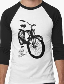 Old Skool Bicycle Men's Baseball ¾ T-Shirt