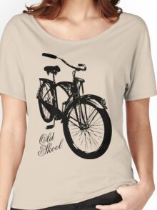 Old Skool Bicycle Women's Relaxed Fit T-Shirt