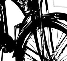 Old Skool Bicycle Sticker
