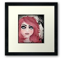 Dear little doll series... MUFFIE Framed Print