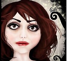 Dear little doll series... POLLY by ROUBLE RUST