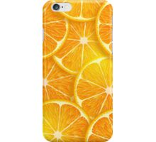 Sliced Orange iPhone Case/Skin