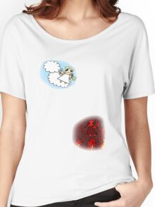 Heaven and hell Women's Relaxed Fit T-Shirt