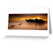 Shipwreck Rock Greeting Card