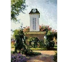 Franklin Clock Tower Photographic Print