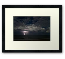 Offshore Lights Framed Print