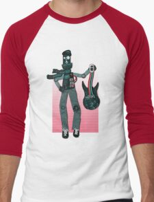 Unplugged ...  by Perrin Men's Baseball ¾ T-Shirt