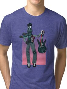 Unplugged ...  by Perrin Tri-blend T-Shirt