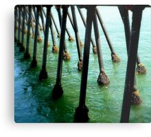 Marching Off To Sea Metal Print