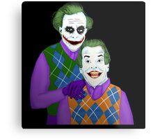 Step Jokers Metal Print
