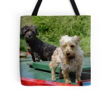 Canal canines Tote Bag