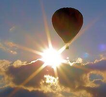 Balloonar Eclipse by Carrie Bonham