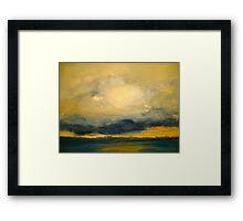 The Lowering Sky.. Framed Print