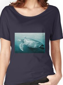 Green Turtle Surfacing - Grand Cayman Women's Relaxed Fit T-Shirt