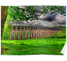 Balcombe Viaduct (Ouse Valley, West Sussex) - HDR 1 Poster