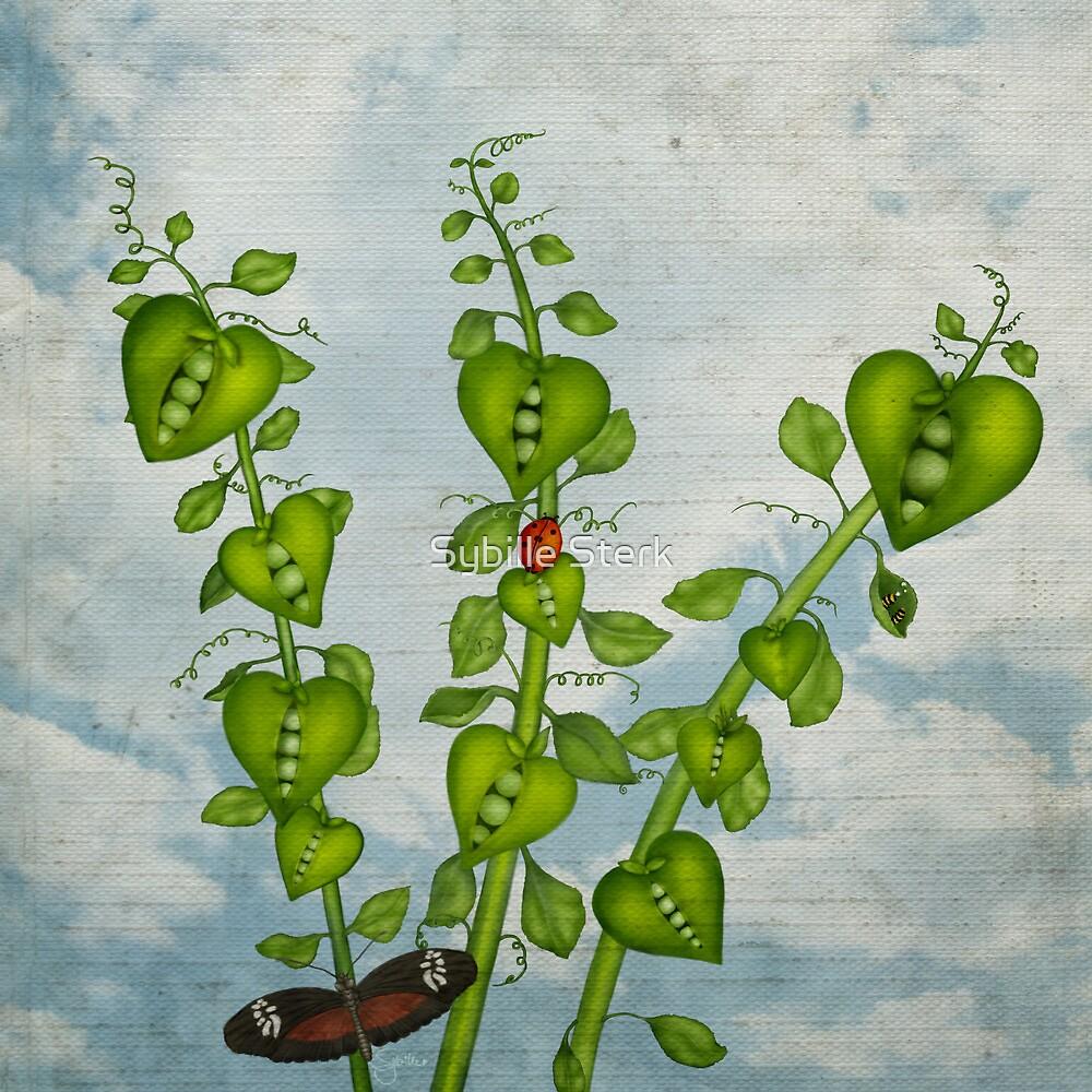 Pea Pod Hearts by Sybille Sterk