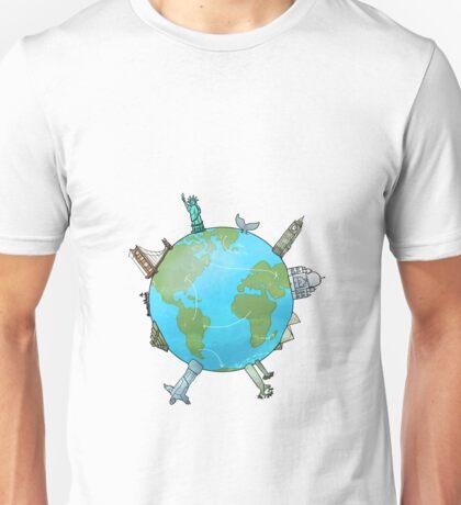 Travel fever Unisex T-Shirt