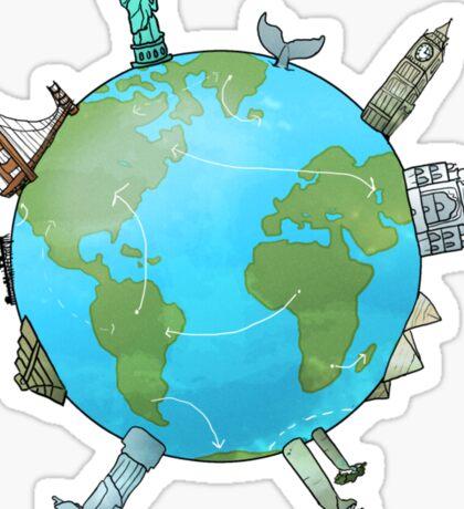 Travel fever Sticker