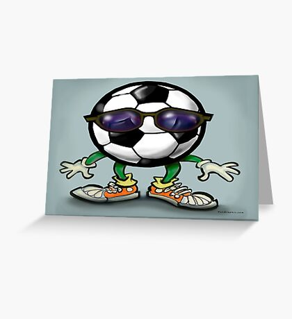 Soccer Cool Greeting Card