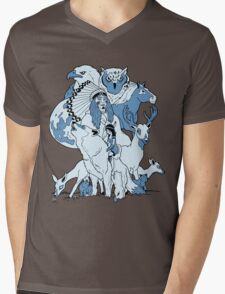 Rosemont 2. Mens V-Neck T-Shirt