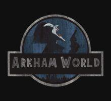 Arkham World by Mustafa Fardin