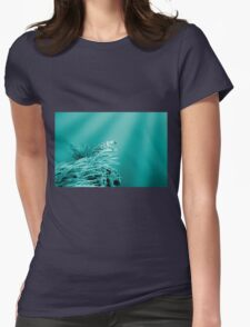 Into The Blue Womens Fitted T-Shirt