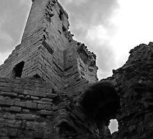 Dunstanburgh Castle, from inside by Ryan Davison Crisp
