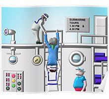 Submarine Tour Poster