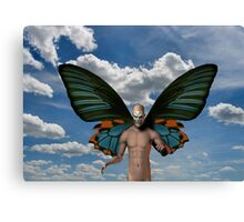 Devil in the sky Canvas Print