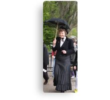 Miss Victoriana Canvas Print